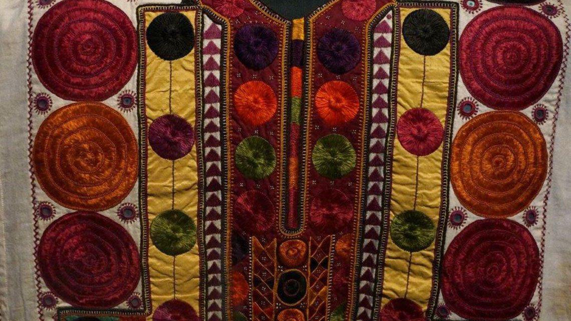 tissu esprit cabana couleurs ocres