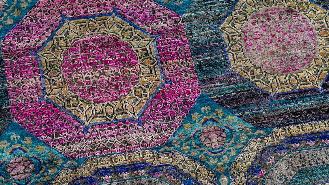 tapis soie Jaipur esprit cabana