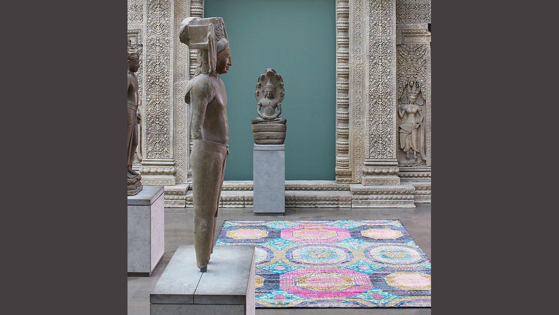 tapis codimat musee Guimet