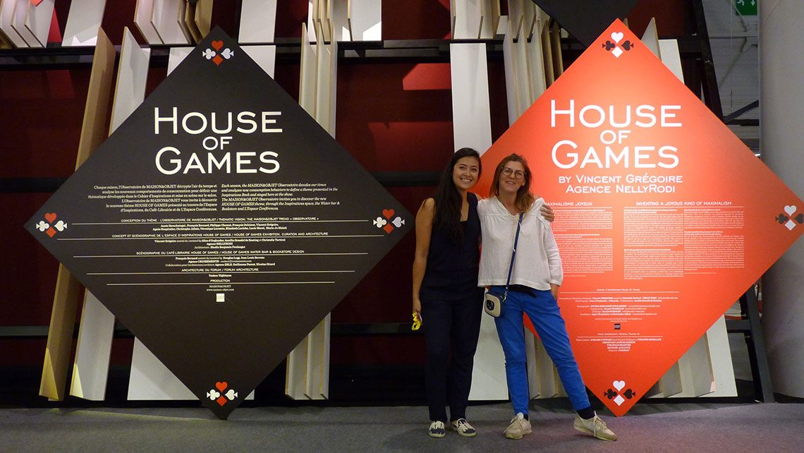 Entrée espace inspiration House of Games Maion et objets 2016