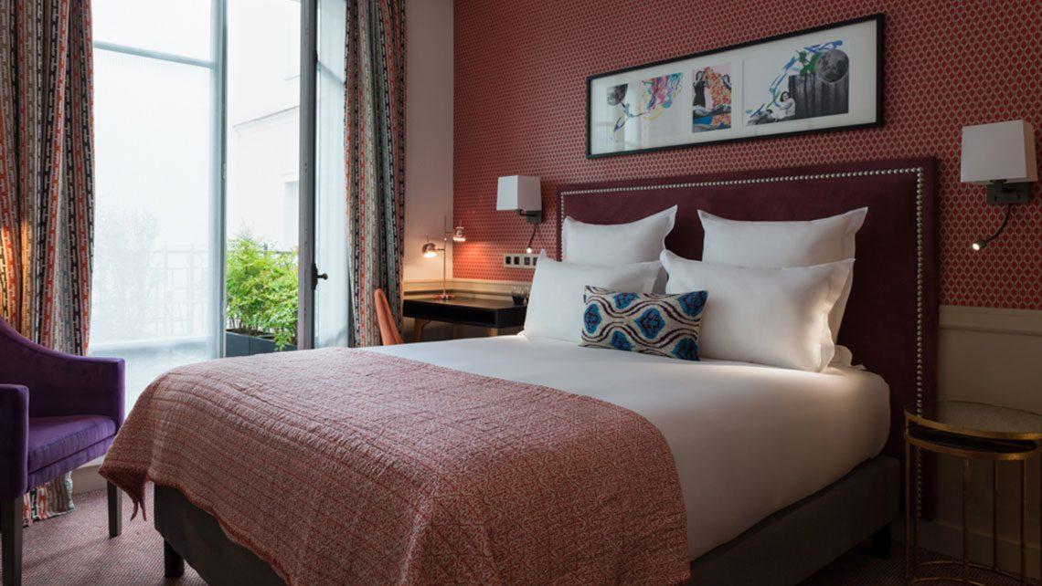 chambre superieur parisenne hotel adele et jules