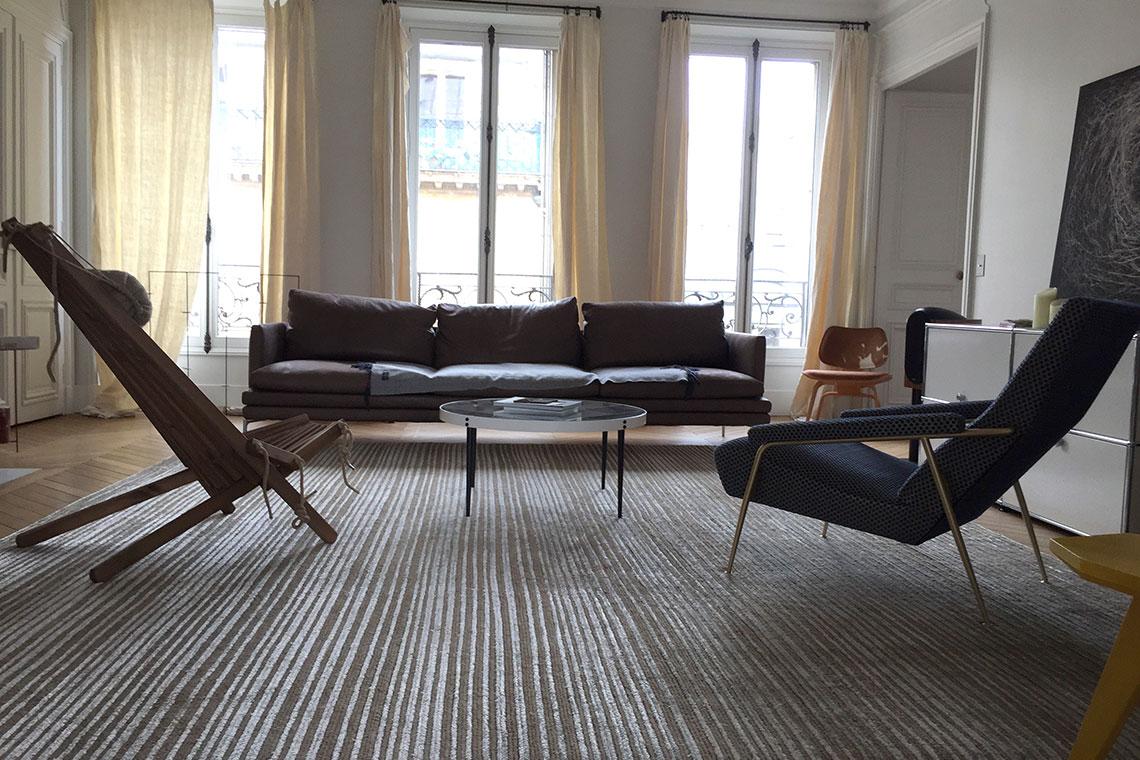 codimat asseyons nous tapis raye salon codimat collection. Black Bedroom Furniture Sets. Home Design Ideas