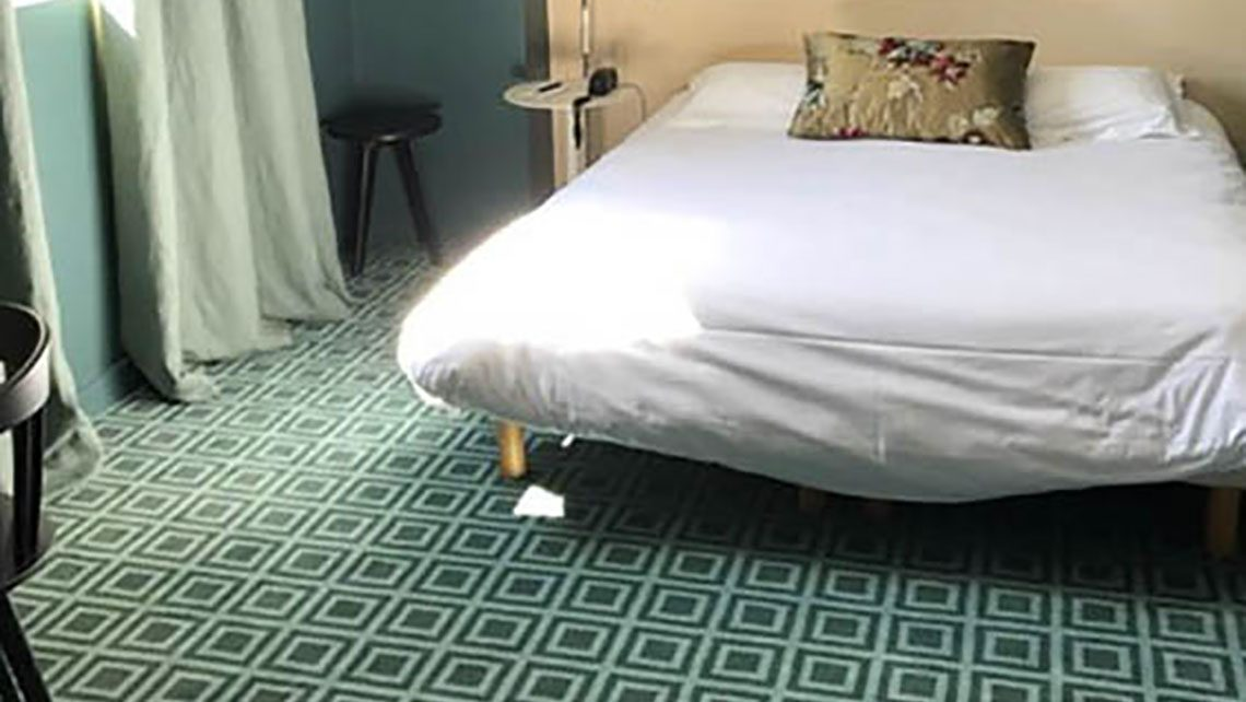 "chambre "" L'Hotel"" à Nantes"