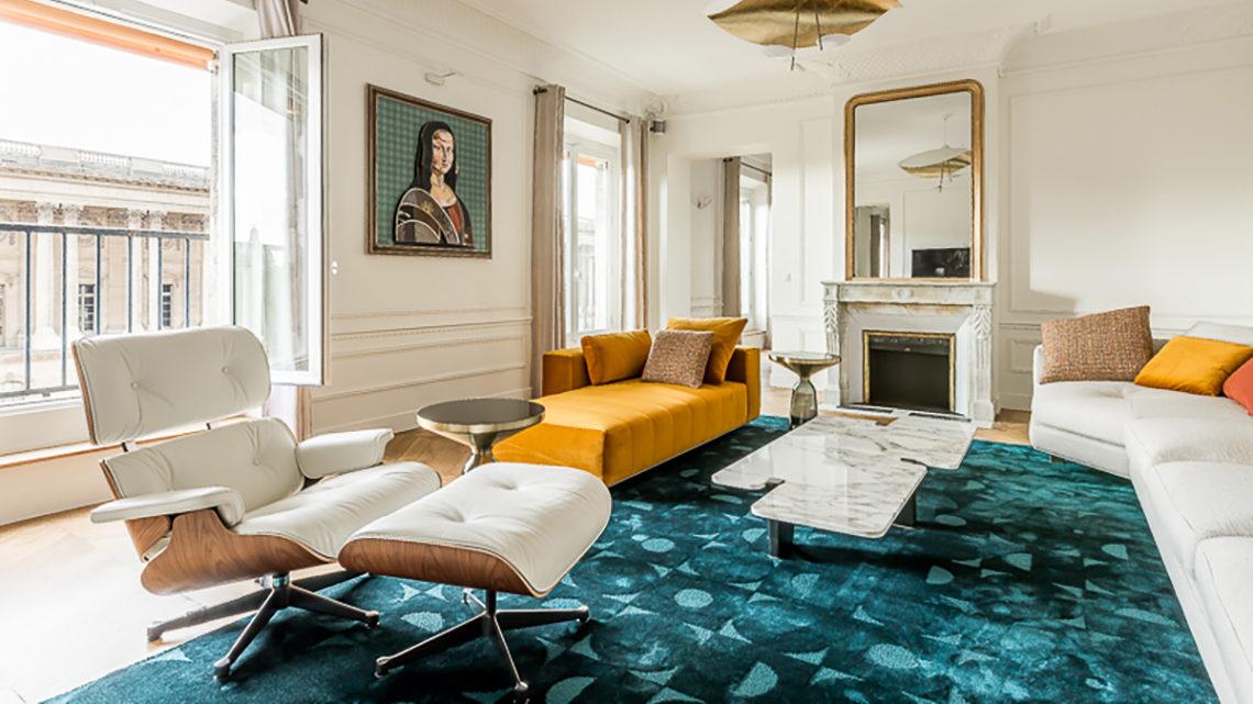 tapis Codimat bleu