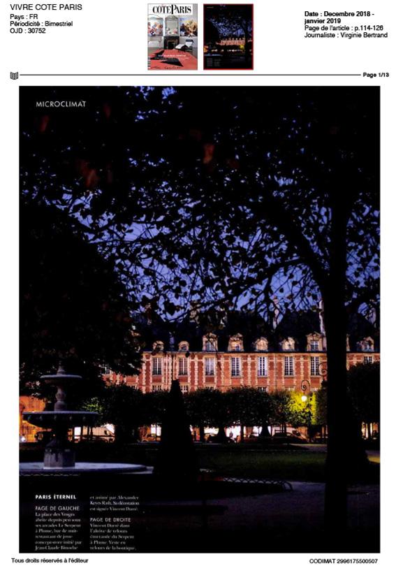 moquette réalisée par Codimat bleu et blanche Hotel Montana