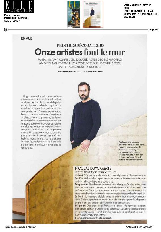 ALEXANDRE BENJAMIN NAVET - Collaboration avec Codimat