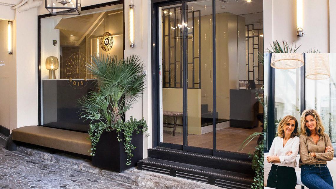 façade hotel Doisy Etoile Paris - portraits architectes