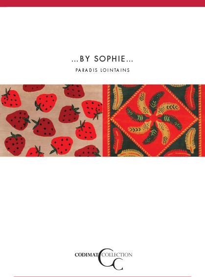 couverture brochure tapis by sophie canovas
