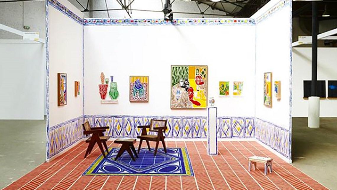 stand art brussels galerie DEROUILLON
