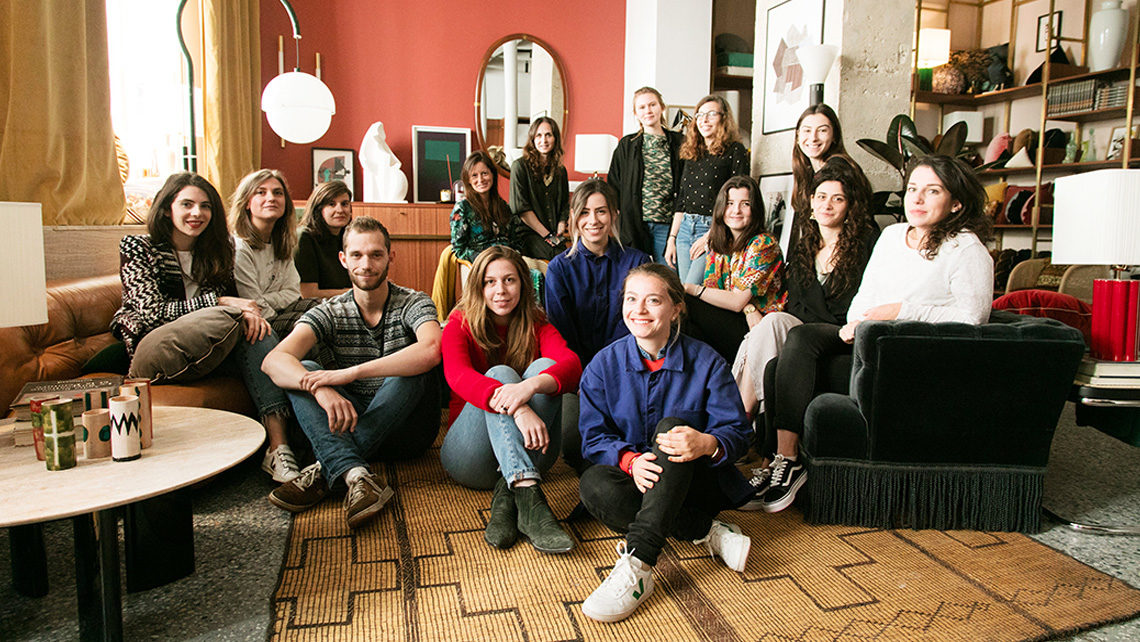 équipe de la boutique the socialite family