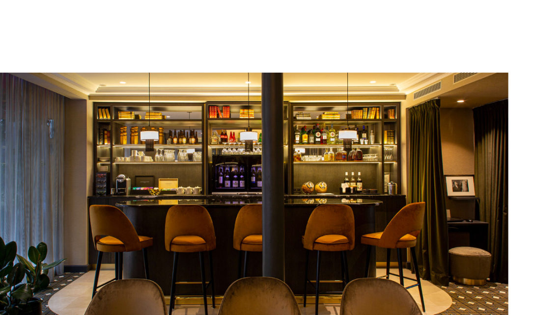 hotel Lenox bar - moquette Codimat