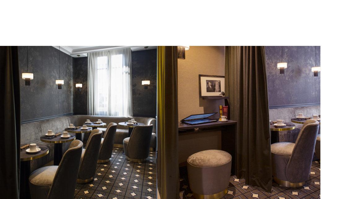 hotel Lenox boudoir