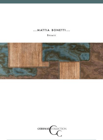 couverture brochure Mattia Bonetti