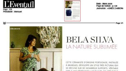 article ceramiste Bela Silva x Codimat
