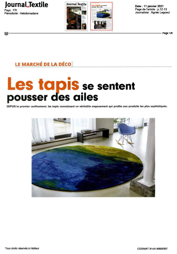 Journal du textile Codimat