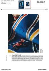 Tapis Alexandre Benjamin Navet pour Codimat collection