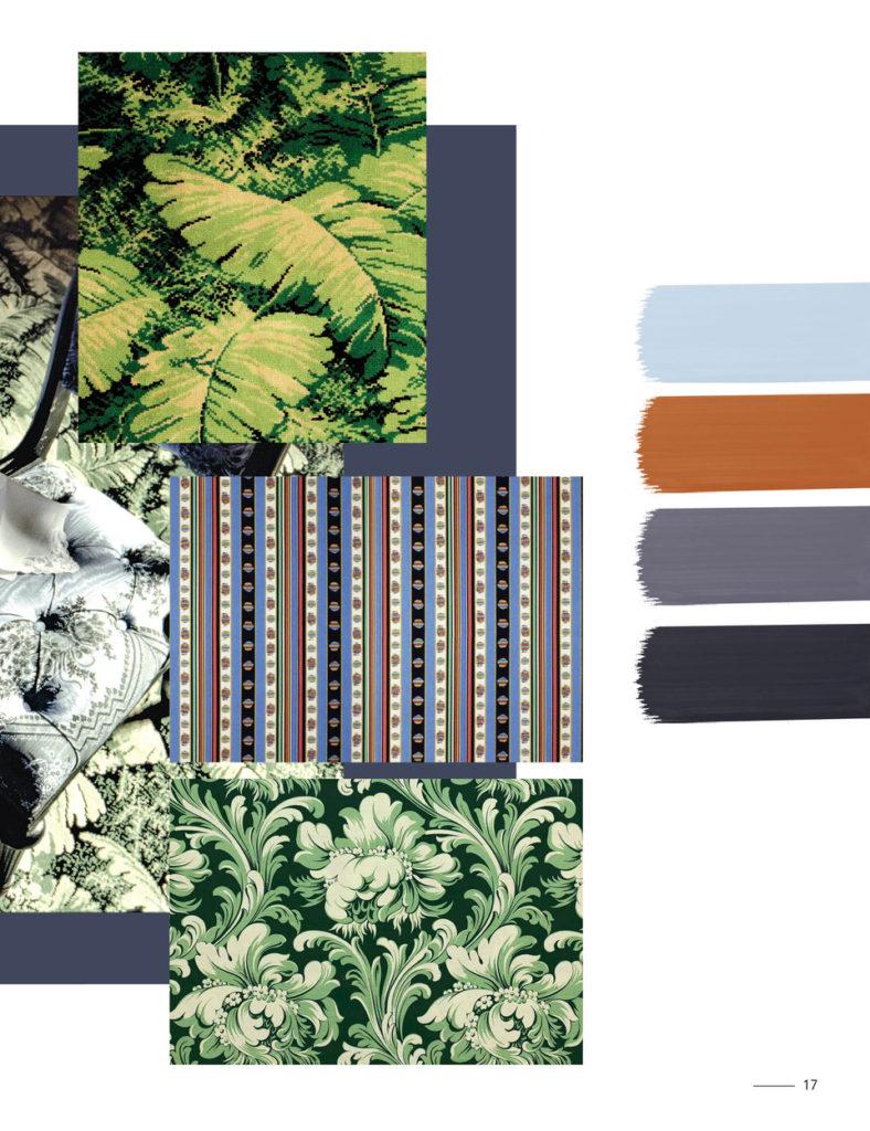 Madeleine Castaing brochure verts t bleus