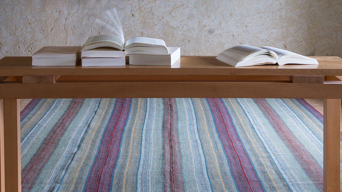 tapis iran kilim esprit cabana