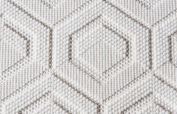 moquette tisse structure laine ivoire