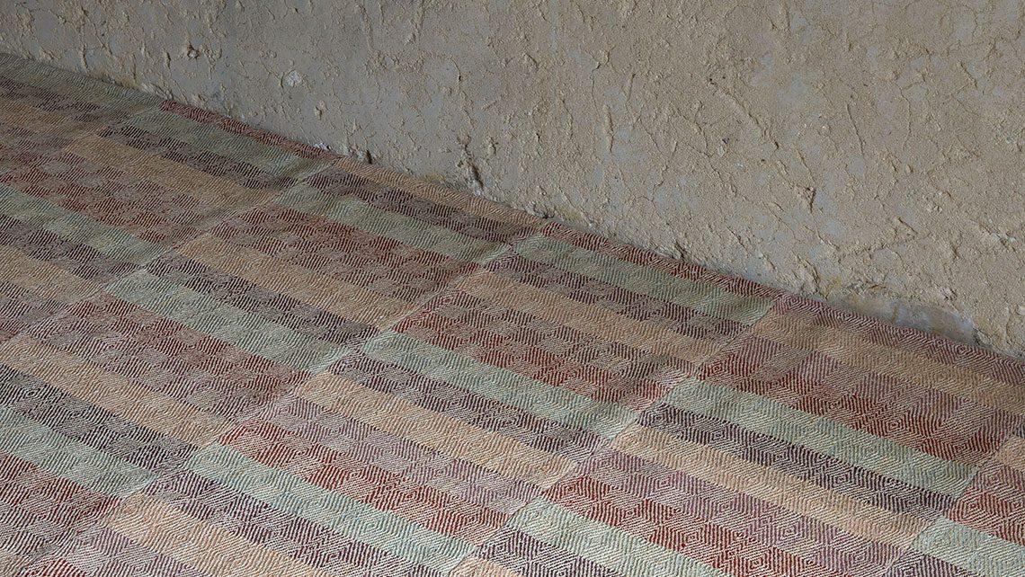 tapis moquette kilim iran couleurs douces codimat