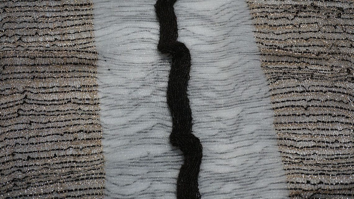tapis tissage laine et lurex wabi sabi codimat