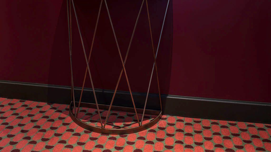tapis escalier hotel Adele et Jules