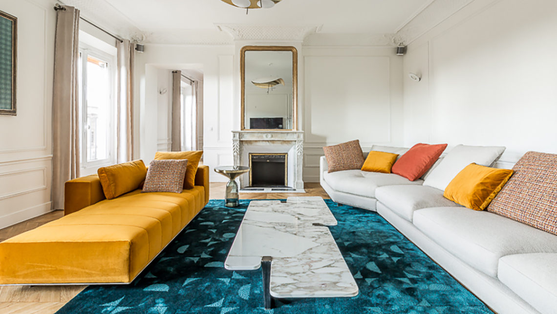 tapis bleu Codimat