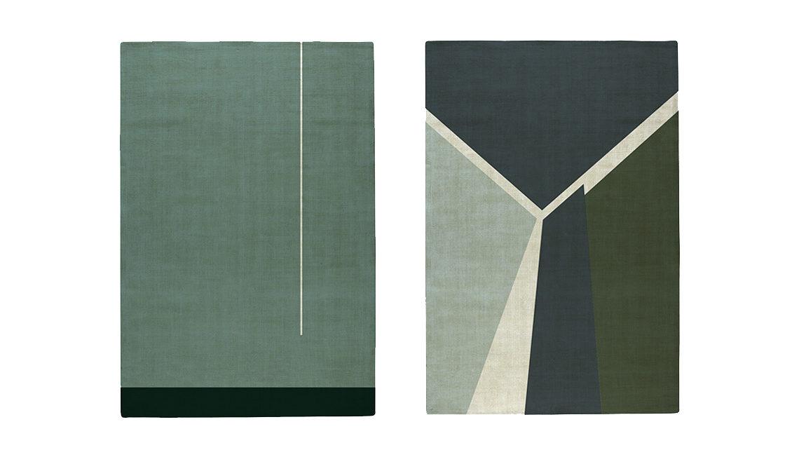 tapis pernille picherit bleu New York Codimat