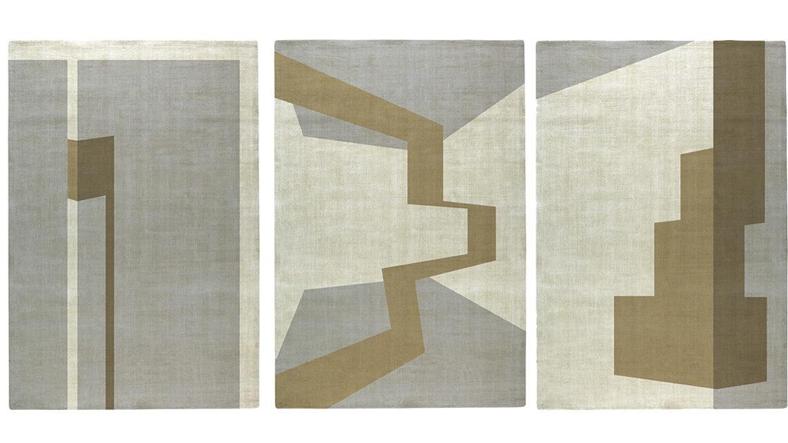 tapis pernille picherit beige et ivoire codimat