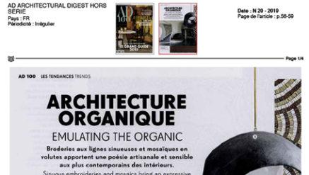 Architecture organique tapis Codmat