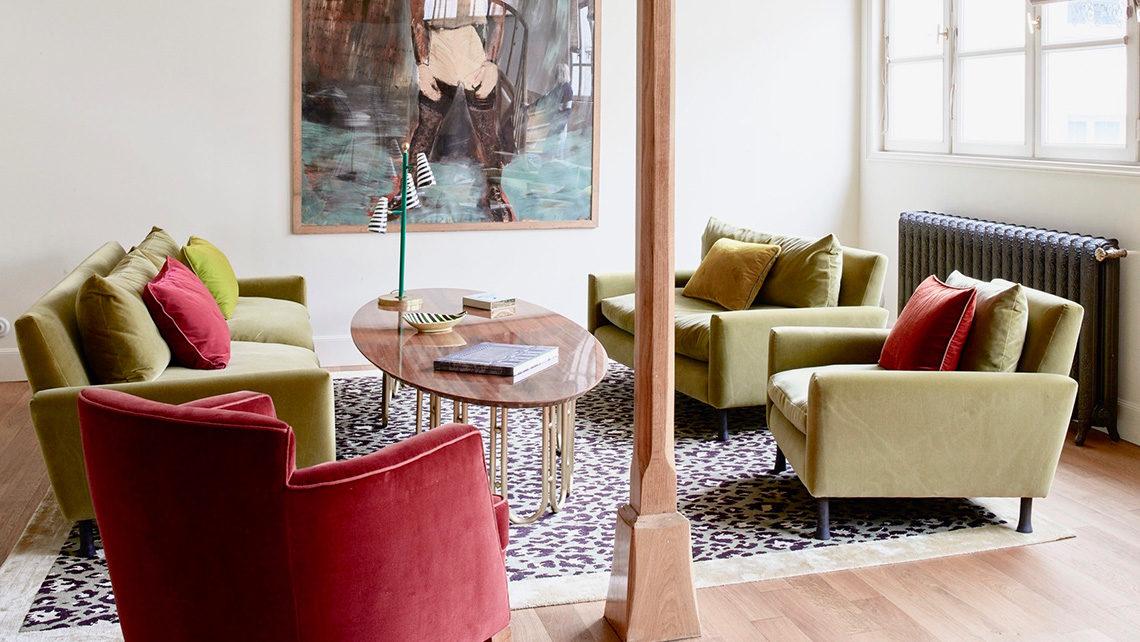 tapis Codimat projet Alix thomsen