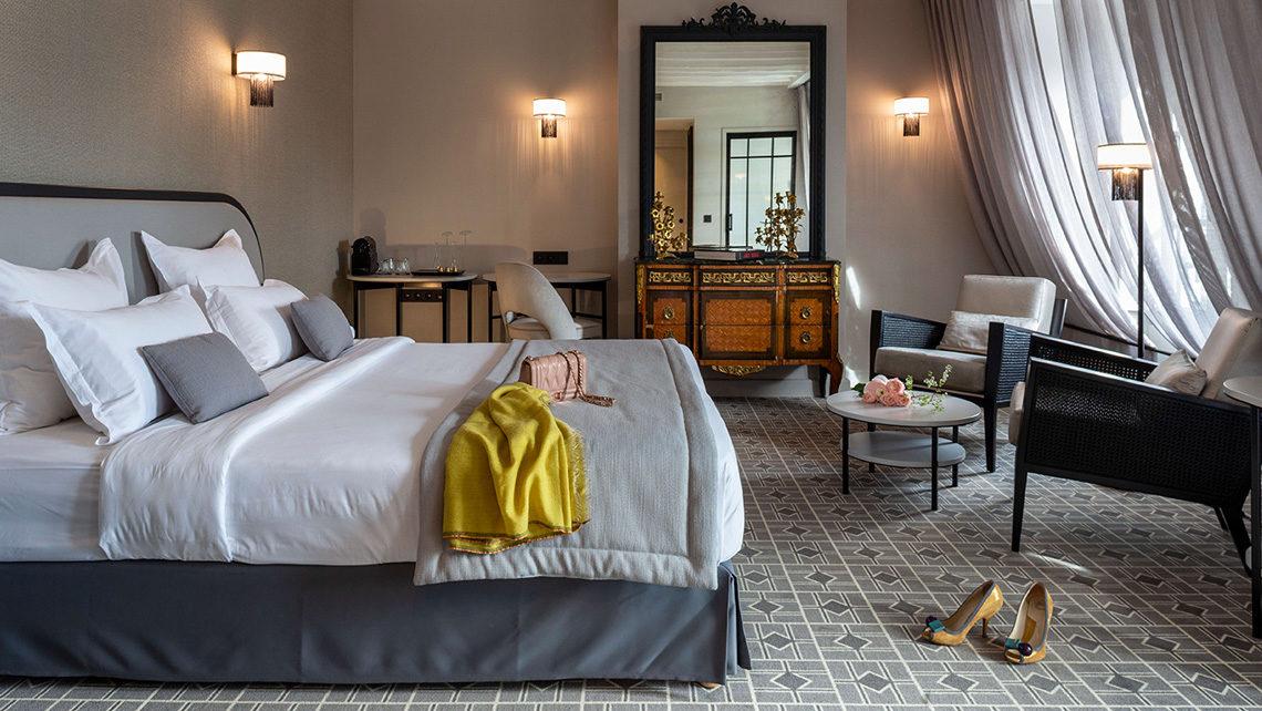 Hotel Lenox Paris chambre- moquette Codimat