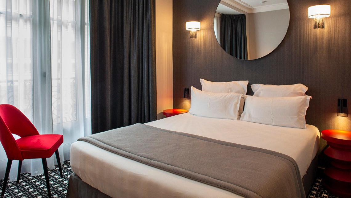 hotel Lenox chambre Dada- moquette Codimat