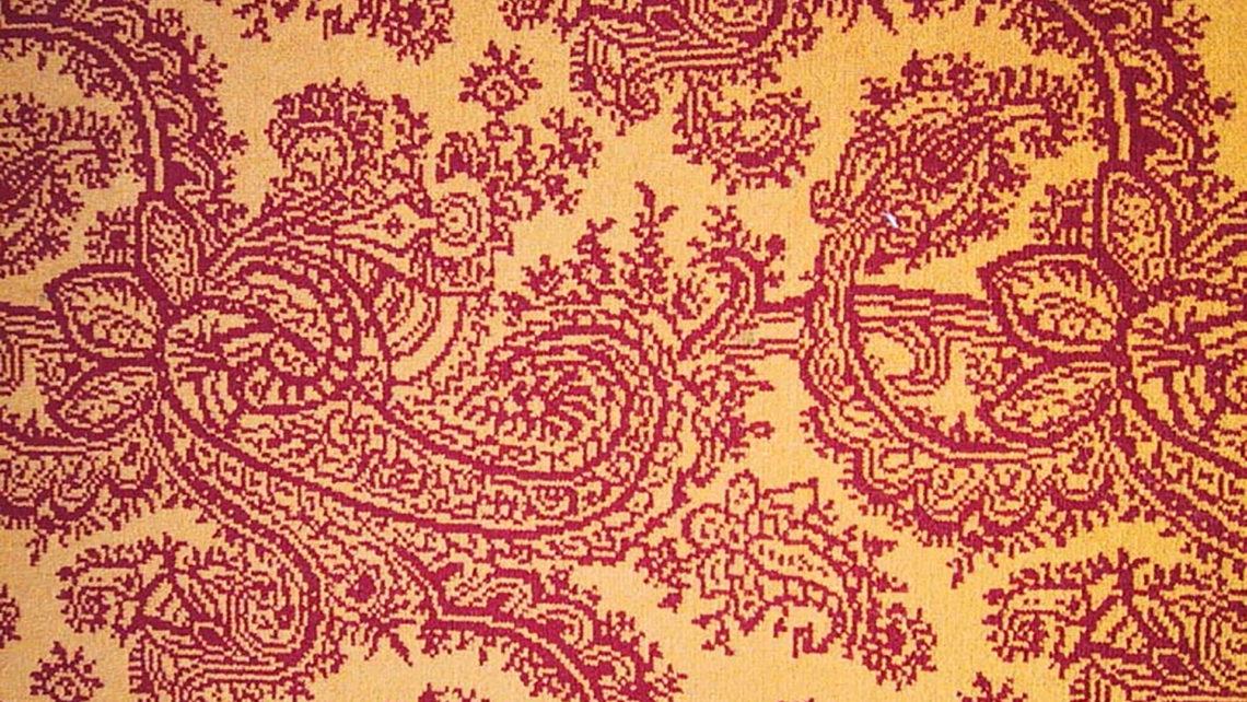 moquette codimat motif cachemire